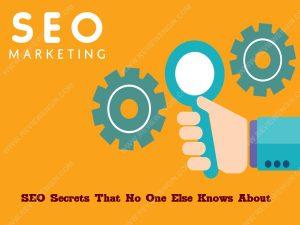 SEO Secrets That No One Else Knows About