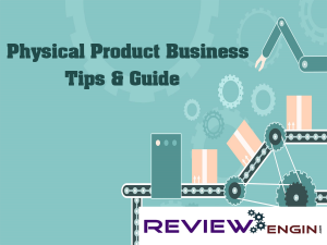 Physical Product Business Tips & Guide