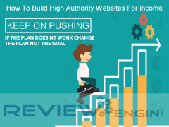 How To Build High Authority Websites For Income