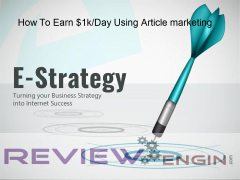 How To Earn $1kDay Using Article marketing