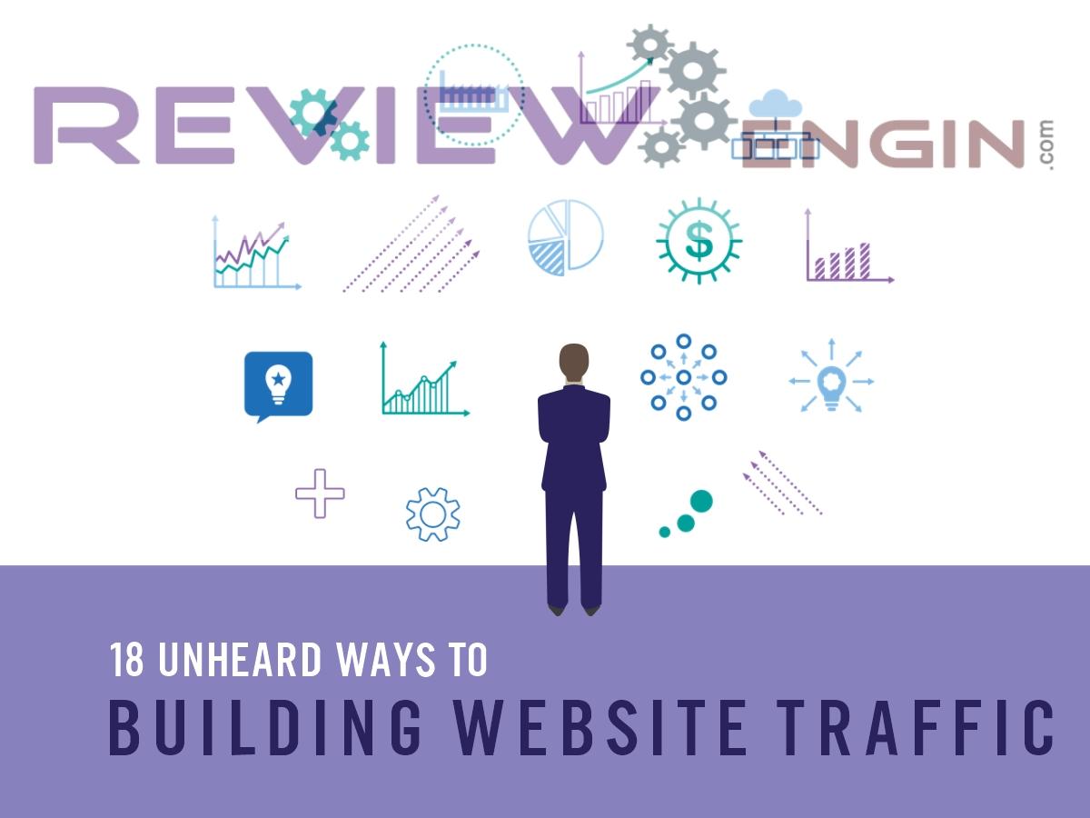 18 Unheard Ways To Building Website Traffic