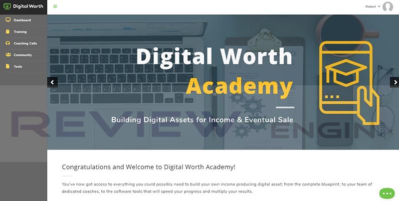 Digital Worth Academy Members Area