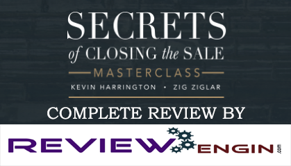 Secrets Of Closing The Sale Masterclass Review