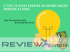 Start Earning An Income Online