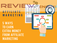 5 Ways To Earn Extra Money From Affiliate Marketing