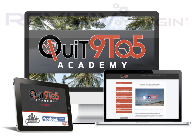 Quit 9 To 5 Academy Members Area