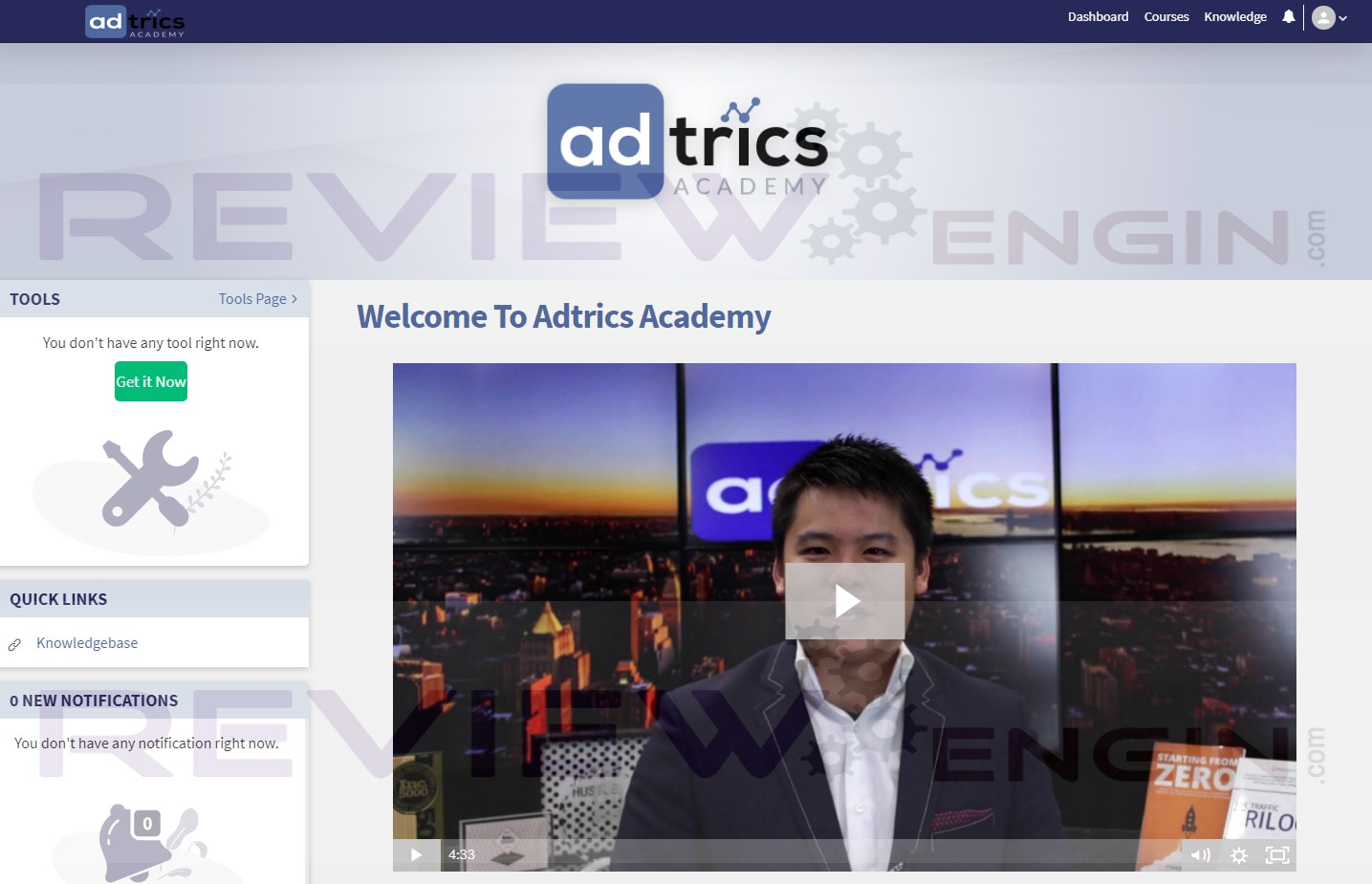 Adtrics Academy Training