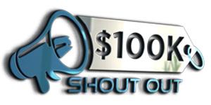 100K Shout Out logo