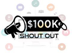 100K ShoutOut